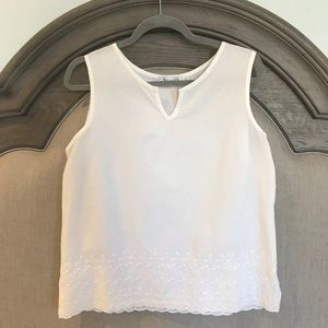 Tops - Fresh Produce Cotton Top with Embroidery